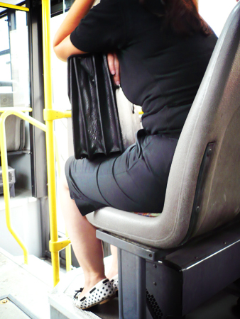 #104 - Stalking the cute girl on the bus