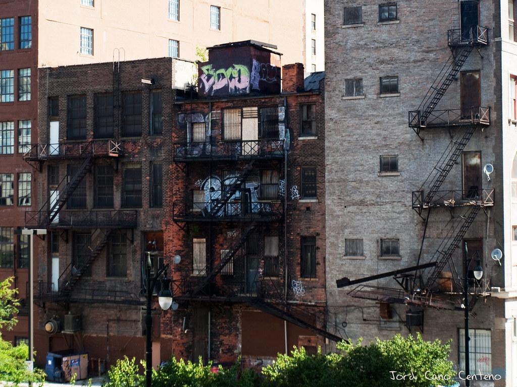 Escaleras de Emergencia - Detroit