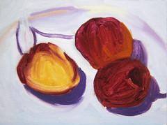 Cherries Oil Painting-Step 2