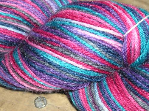 Hand Dyed Yarn - bright