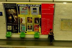 Parisienne en tricolore de Belgique