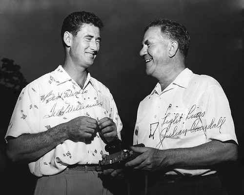 Ted Williams and Julian Crandall