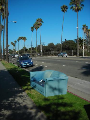 Venice Beach couch