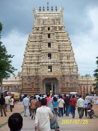 SrirangapatNam gopuram,Mysore