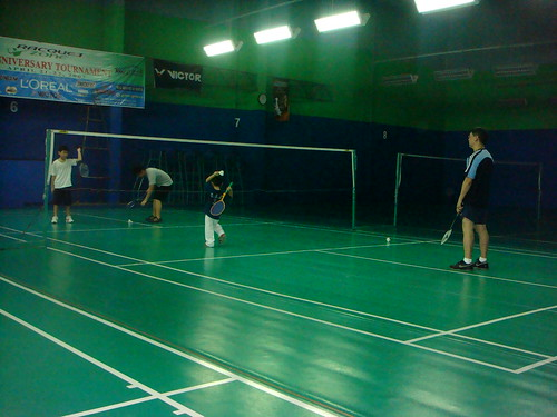Saturday (AM) - badminton session from 10-12