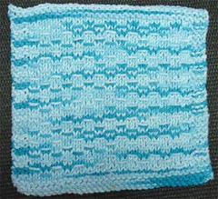 Slip Stitch Dishcloth