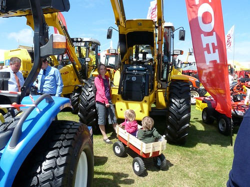 Little Daisy at the Royal Cornwall Show