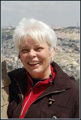 Pat McDonald, Overlooking Jerusalem, Gallicantu Area