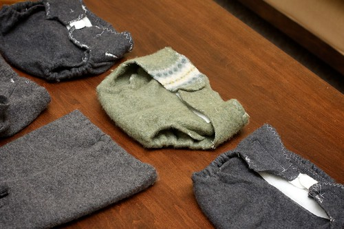 Wool Diaper Cover Wraps