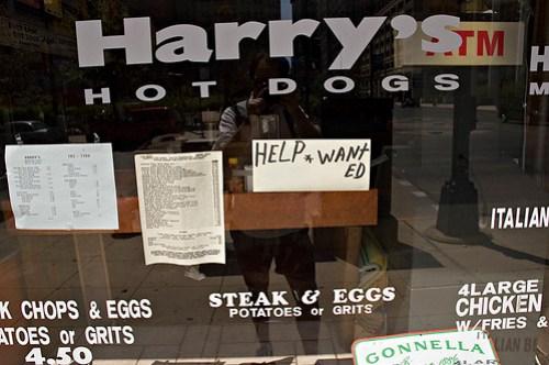 Harrys Hot Dogs Help Want Ed