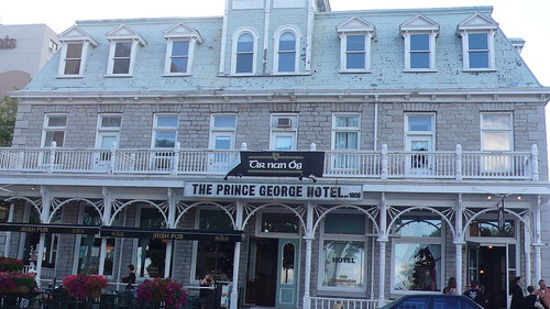 Prince George Hotel, Kingston, Ontario, Canada - front view