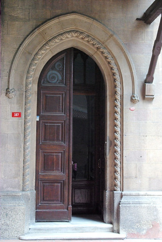 door of St. Antoine Church, Beyoglu Istanbul, pentax k10d