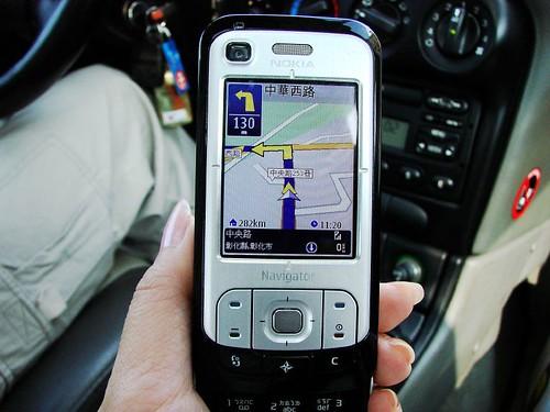 Nokia 6110 Navigator 的PAPAGO! GPS導航系統
