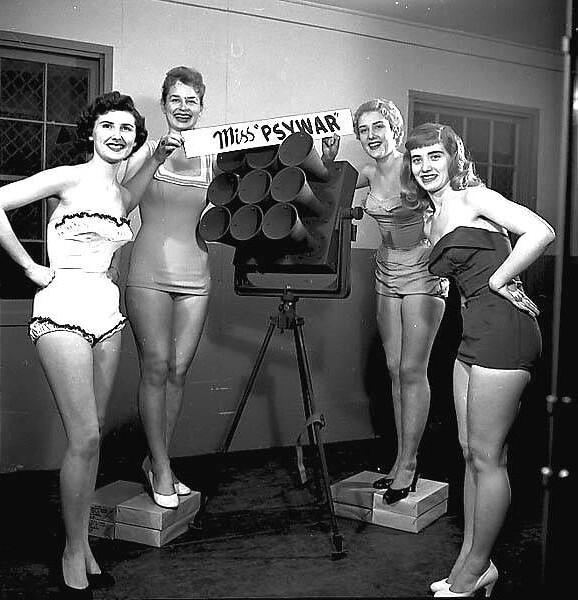 Contestants in Miss Psywar contest