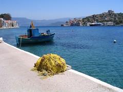 Reti sul porto a Kastelorizo