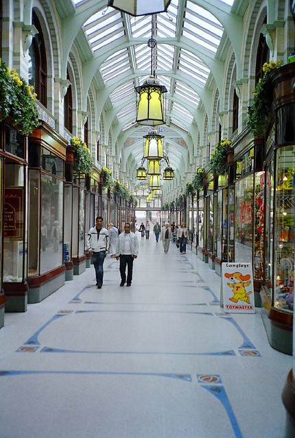 Royal Arcade, Norwich, UK May 2007