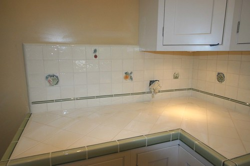 Grout is finished 3