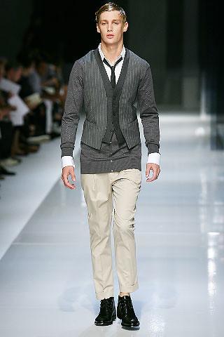 Corporate Dress - Neil Barrett Spring 2008