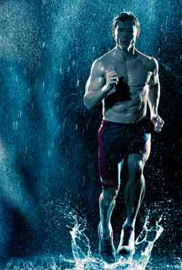Corriendo bajo la lluvia