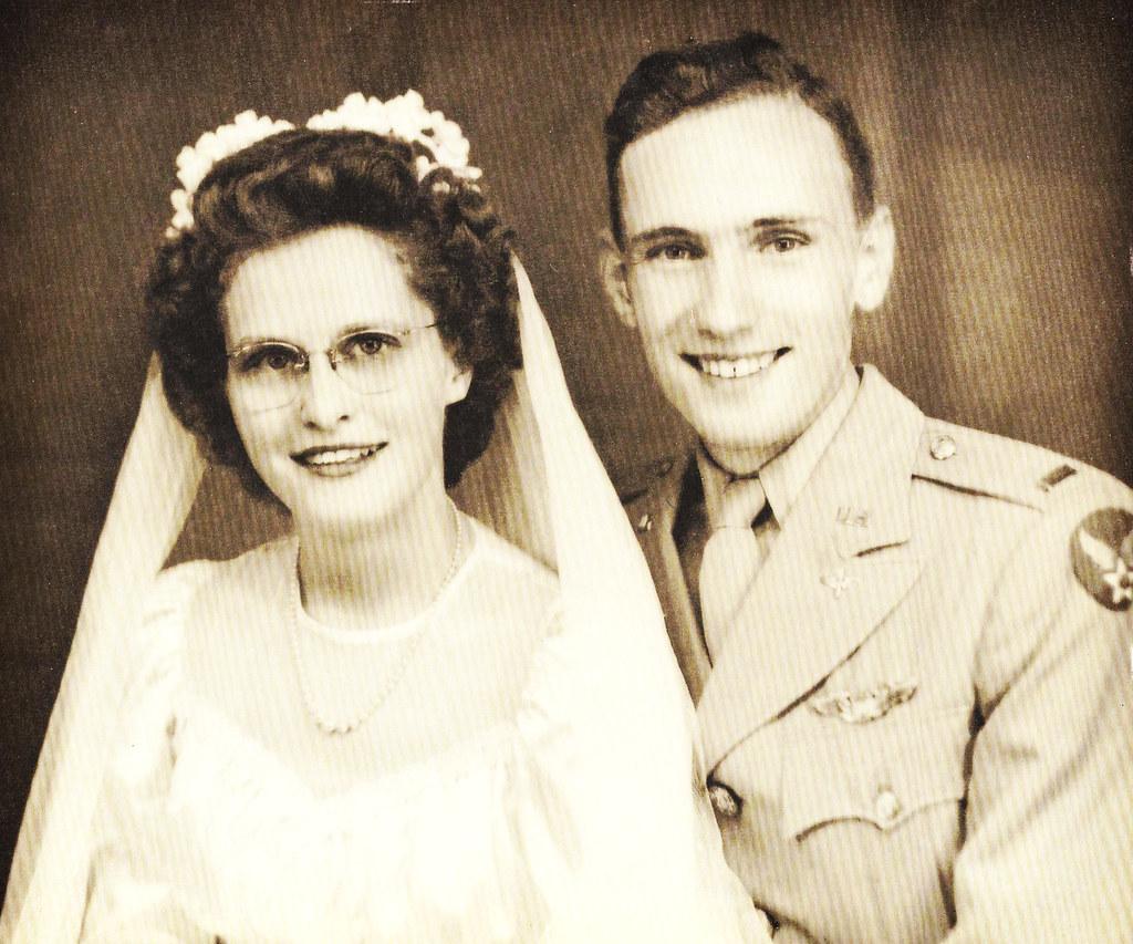 grandma grandpa wedding day