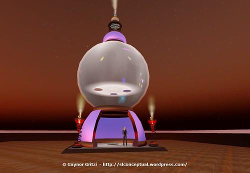 Buddhist Stupa 003