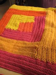 WIP: Grace's Sorcerer's Stone blanket