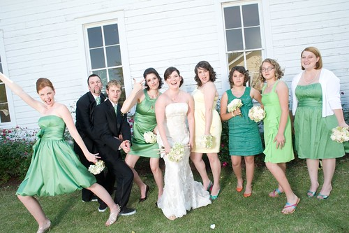 Bridesmaids and Bridesmen