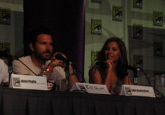 Ed Quin and Sally Richardson at Comic Con