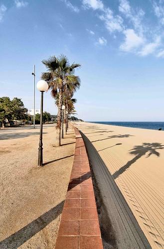 La spiaggia di Canet de Mar, Catalunya