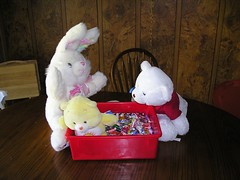candy & teddies from parade