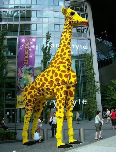 LEGO Giraffe Berlin Tail Theft