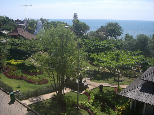 Pemandangan Wahana Bahari Laut (WBL) dari luar