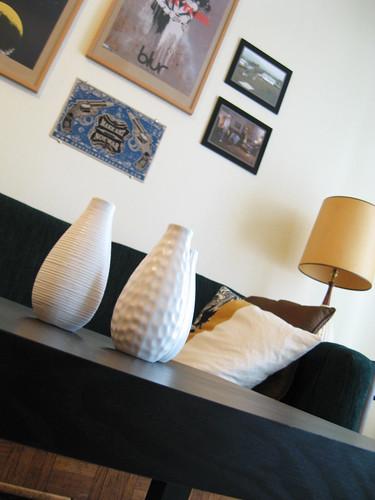 Ikea vases.