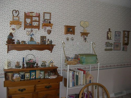 Other wall of dining area