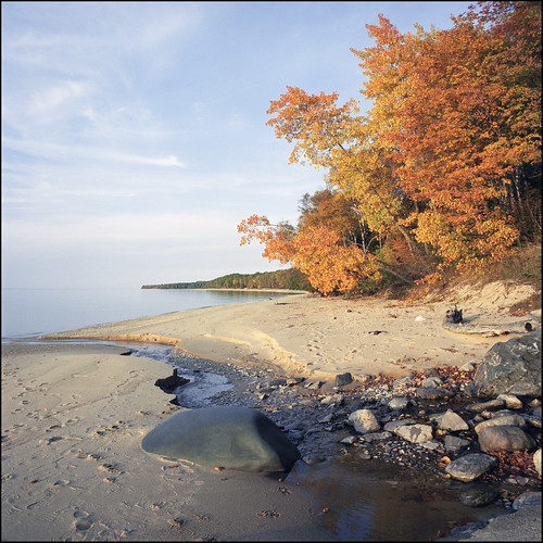 Leelanau shore by Jeff Lamb