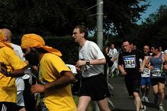 Richard at the 3.5km mark