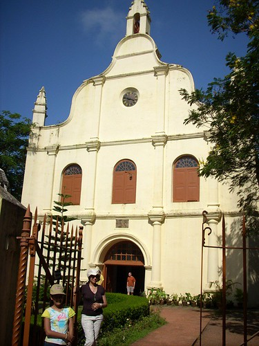 the church where Vasco da Gamma was buried.