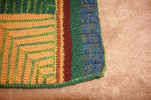 Baby Blanket Edge Detail