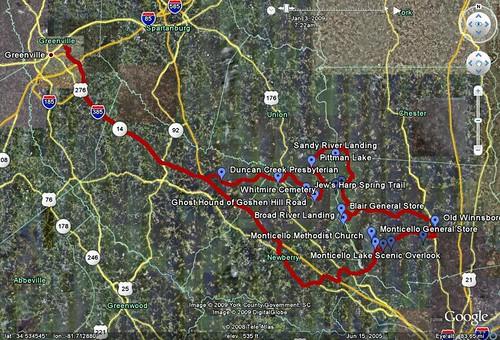 Fairfield GPS Track