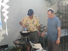 Summer afternoon BBQ