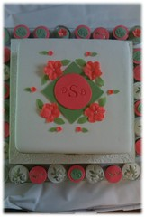 Ladybug Luggage cake