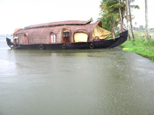 Houseboat on backwaters