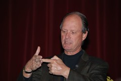 Dr. Robert Ballard speaks at Villa Julie Colle...