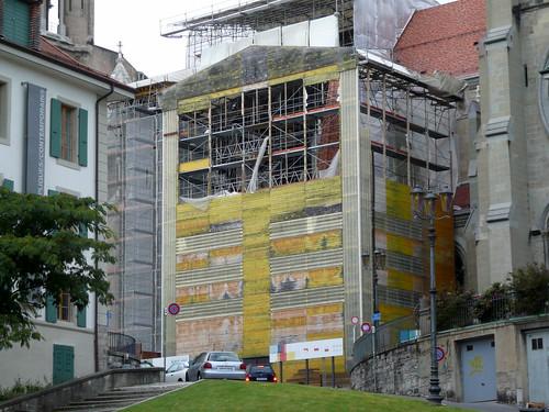 Portail peint Cathédrale (6 septembre 2007)