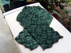 entrelac-scarf