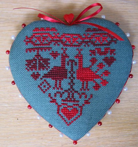 Heart Shaped Pinkeep - front