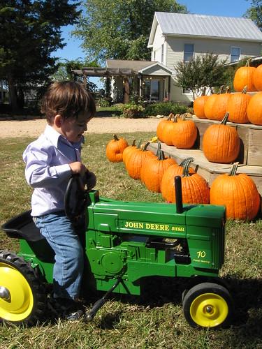 sneads - tractor fun