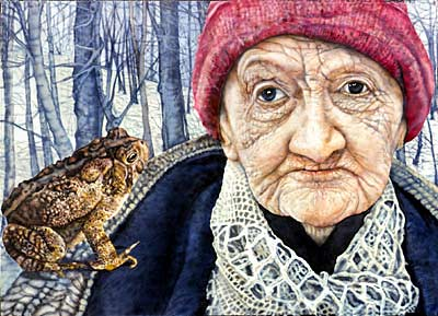 Judy Somerville, The Old Woman and the Toad