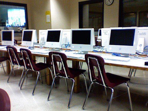 Serene Computer Lab at Seward Montessori School
