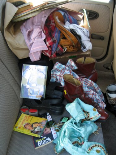 Junk in my back seat